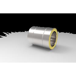 System kominowy - prosta izolowana rura kwasoodporna
