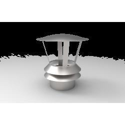 Nasada wentylacyjna - Daszek z 2 pierścieniami