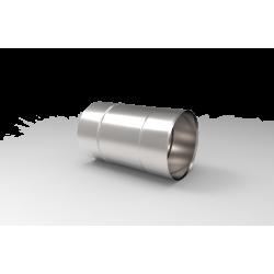 Żaroodporna rura prosta do podciśnieniowego systemu kominowego