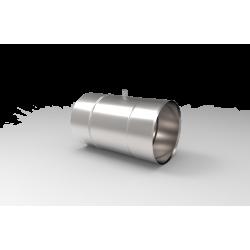 Żaroodporna rura z króćcem pomiarowym - 0,25mb 0,8 MM