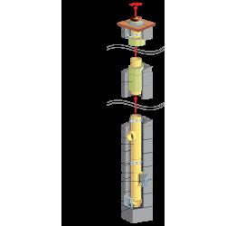 System kominowy ceramiczny - SUCHY WARIANT