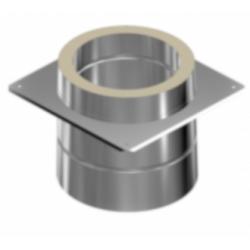 Akcesoria kominowe - izolowane przejście do kominów ceramicznych