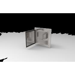 Akcesoria kominowe - drzwiczki wyczystki z przegrodą