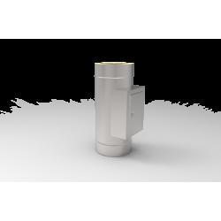 Wyczystka izolowana z drzwiczkami 0,8 MM - systemy kominowe